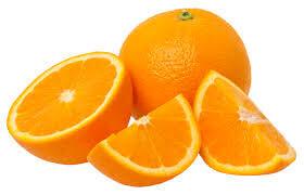 pieces of orange