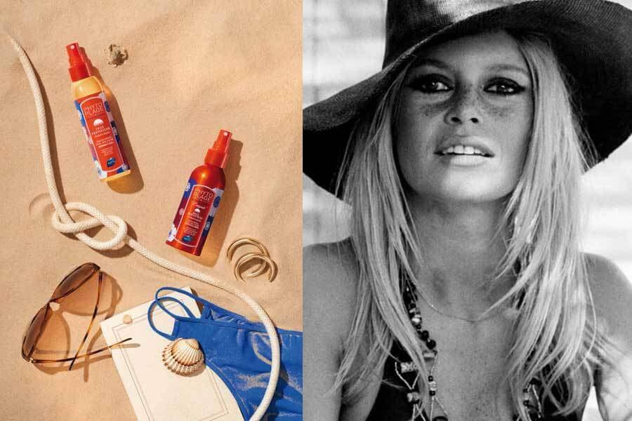 Brigitte Bardot, το αντηλιακό μαλλιών του κομμωτή της απευθείας από τα hair salons του Παρισιού!