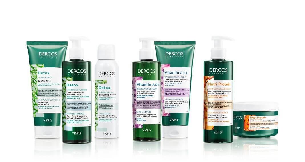 Νέα σειρά Vichy Dercos Nutrients!Τα μαλλιά σας θα την λατρέψουν!