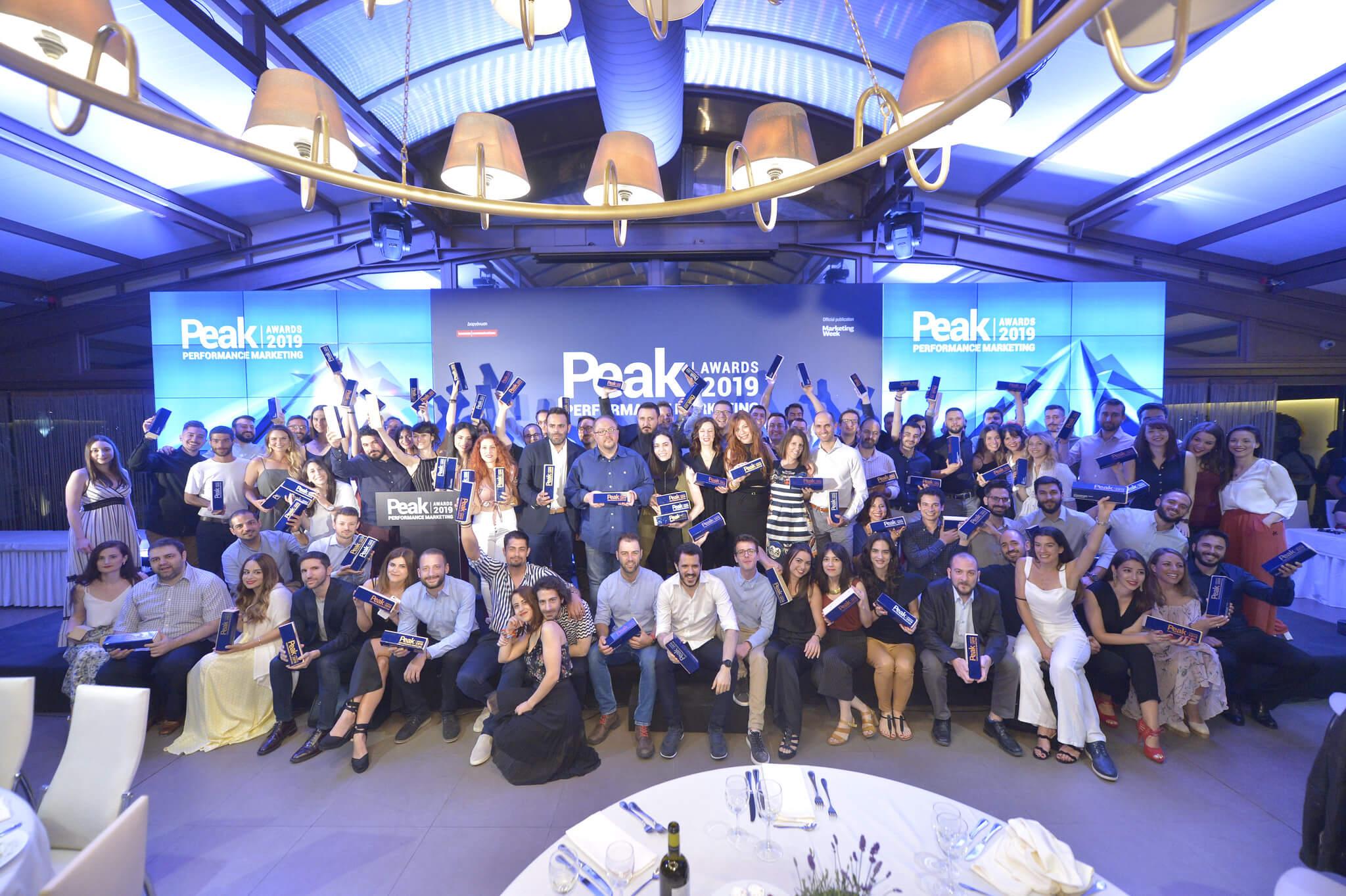 Στην κορυφή του βάθρου τo Pharm24.gr στο Peak Performance Marketing Awards 2019
