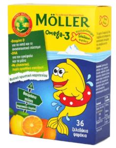 Moller's Ω3 Paidika zeledakia