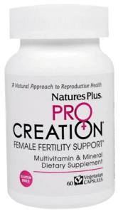 Nature's Plus Pro Creation Female Fertility Support