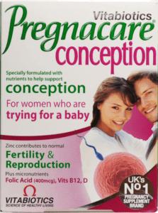 Vitabiotics Pregnacare Conception