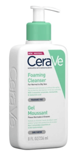 cerave foaming cleanser gel