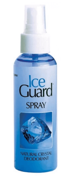 optima ice guerd sprey deodorant
