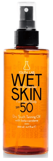 youthlab face body oil tanning