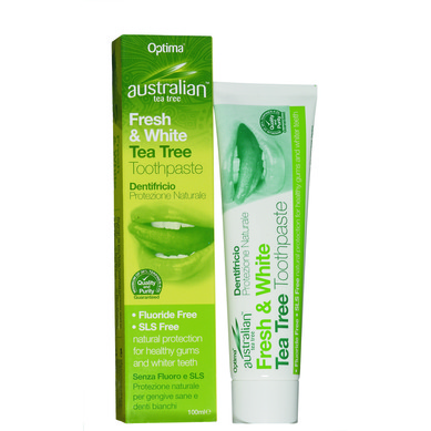 Optima Australian Organic Tea Tree Toothpaste 100ml