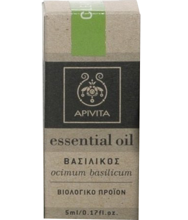 Apivita Essential Oil Βασιλικός 5ml manufacturers categories   apivita   αρωματοθεραπεία