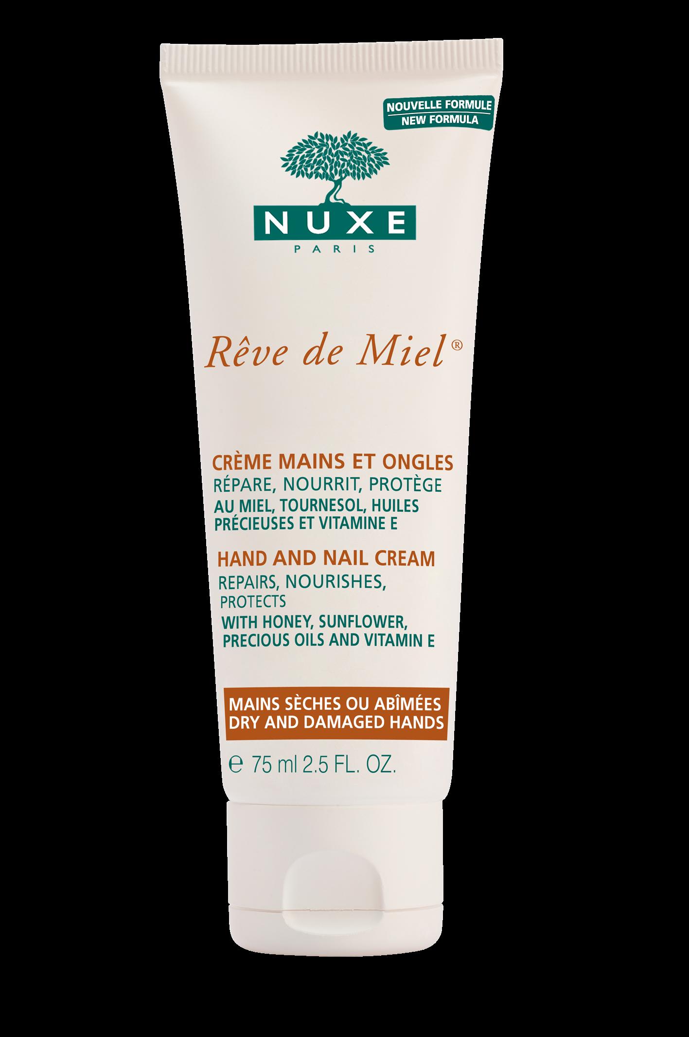 Nuxe Reve De Miel Creme Mains Et Ongles Κρέμα Χεριών και Νυχιών για Θρέψη και Προστασία 75ml