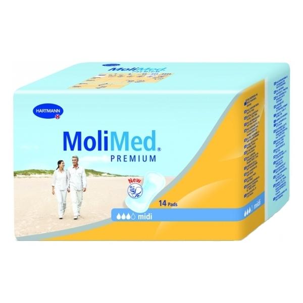 Hartmann Molimed Premium Maxi Σερβιέτες Για Ελαφριά Έως Μέτρια Ακράτεια 14 τμχ