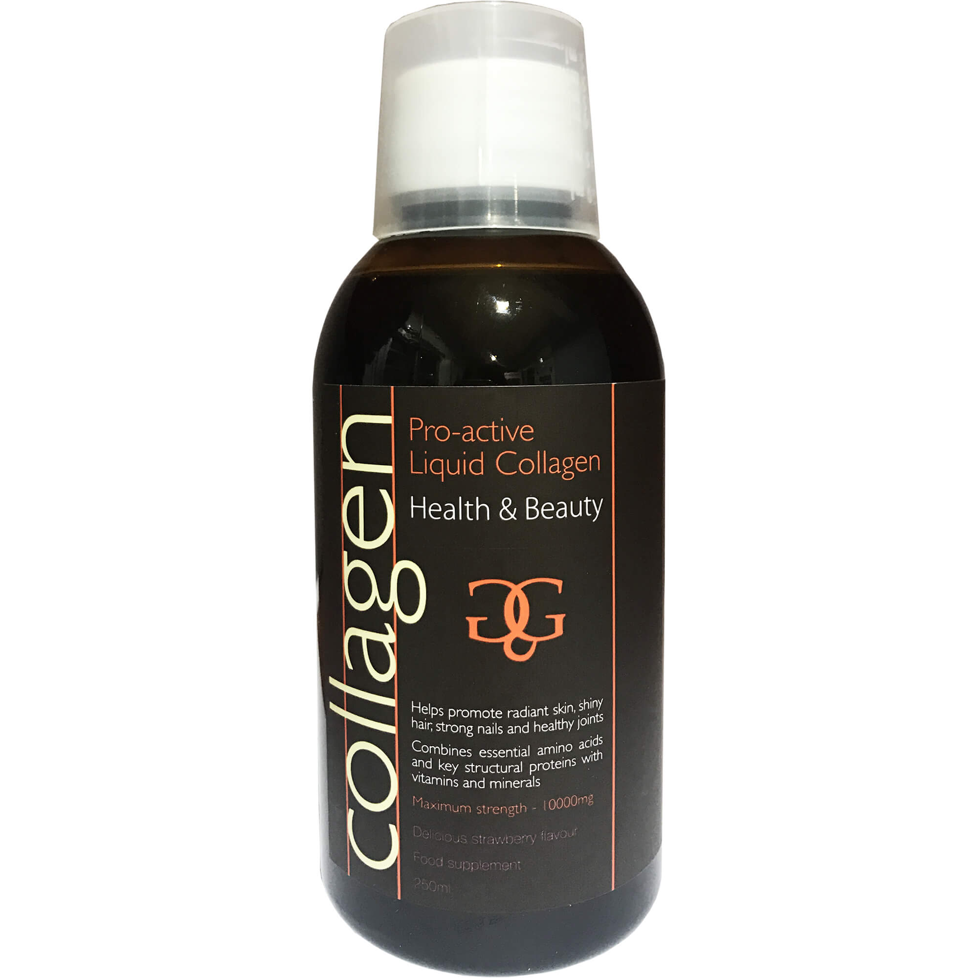 Collagen ProActive Πόσιμο Κολλαγόνο με Γεύση Φράουλα 250ml