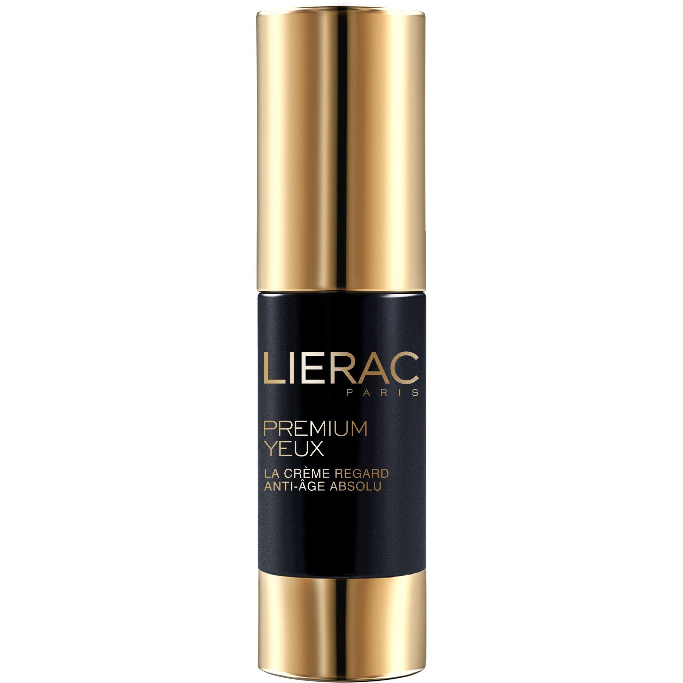 Lierac Premium Yeux Κρέμα Ματιών Γεμίσματος των Βαθιών Ρυτίδων, Μέγιστη Τροφή & Αντιγήρανση 15ml