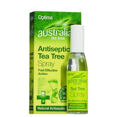 Optima Australian Tea Tree Antiseptic Spray Αντισηπτικές Ιδιότητες 30ml