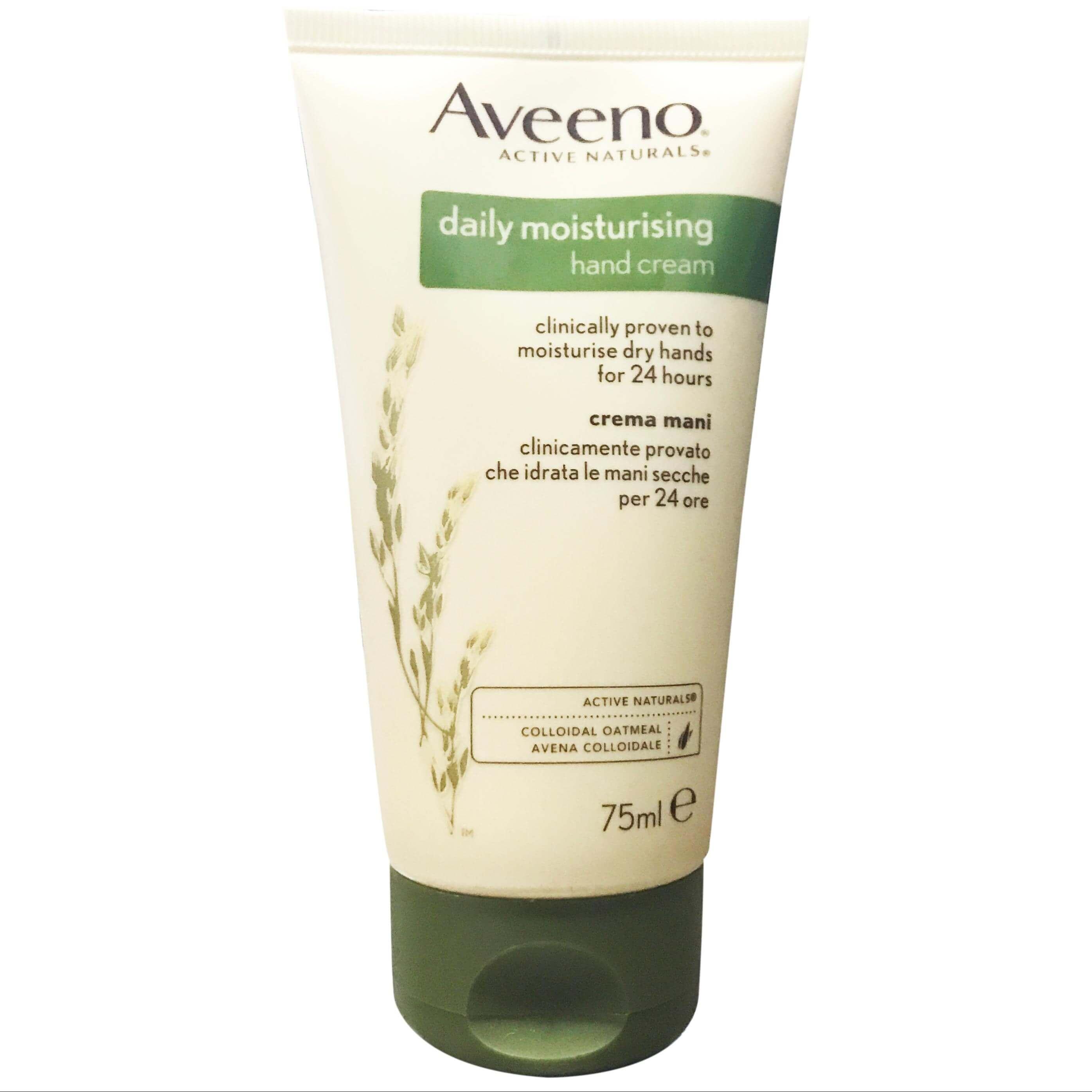 Aveeno Daily Moisturising Hand Cream Κρέμα Χεριών Καθημερινής Περιποίησης για 24ωρη Ενυδάτωση 75ml