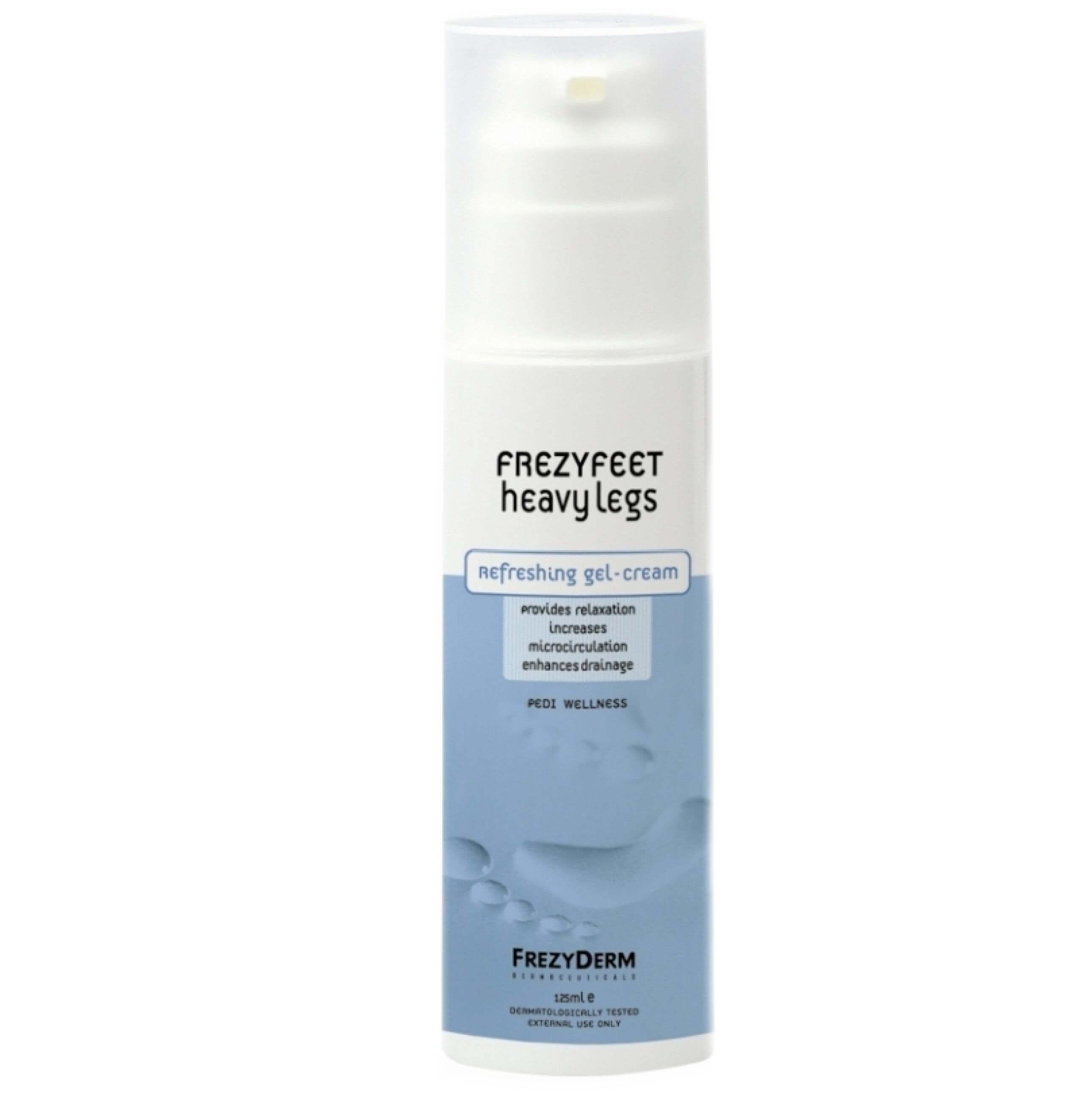Frezyderm Frezyfeet Heavy Legs Cream – Gel για Βαριά &Κουρασμένα Πόδια 125ml