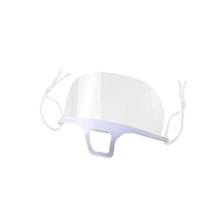 Tetraform Διάφανη Μάσκα Ασπίδα Στόματος Μύτης 1 Τεμάχιο