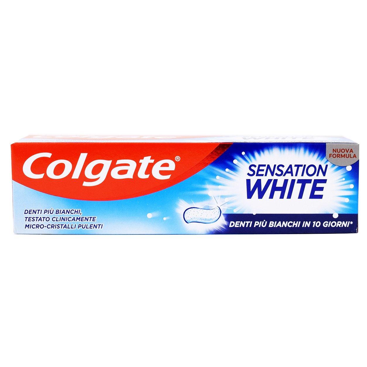 Colgate Sensation White 75ml,Οδοντόκρεμα για πιο Λευκά Δόντια σε 10 Ημέρες
