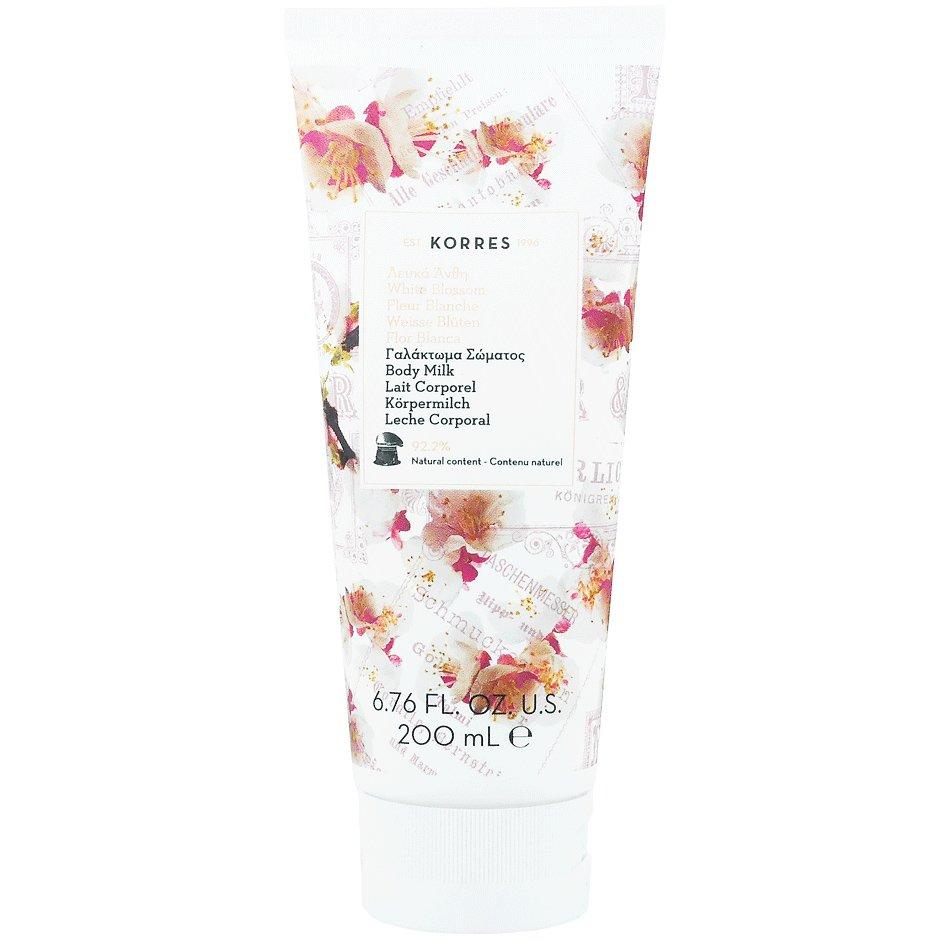 Korres Body Milk White Blossom Ενυδατικό Γαλάκτωμα Σώματος Λευκά Άνθη με Άρωμα Πούδρας 200ml