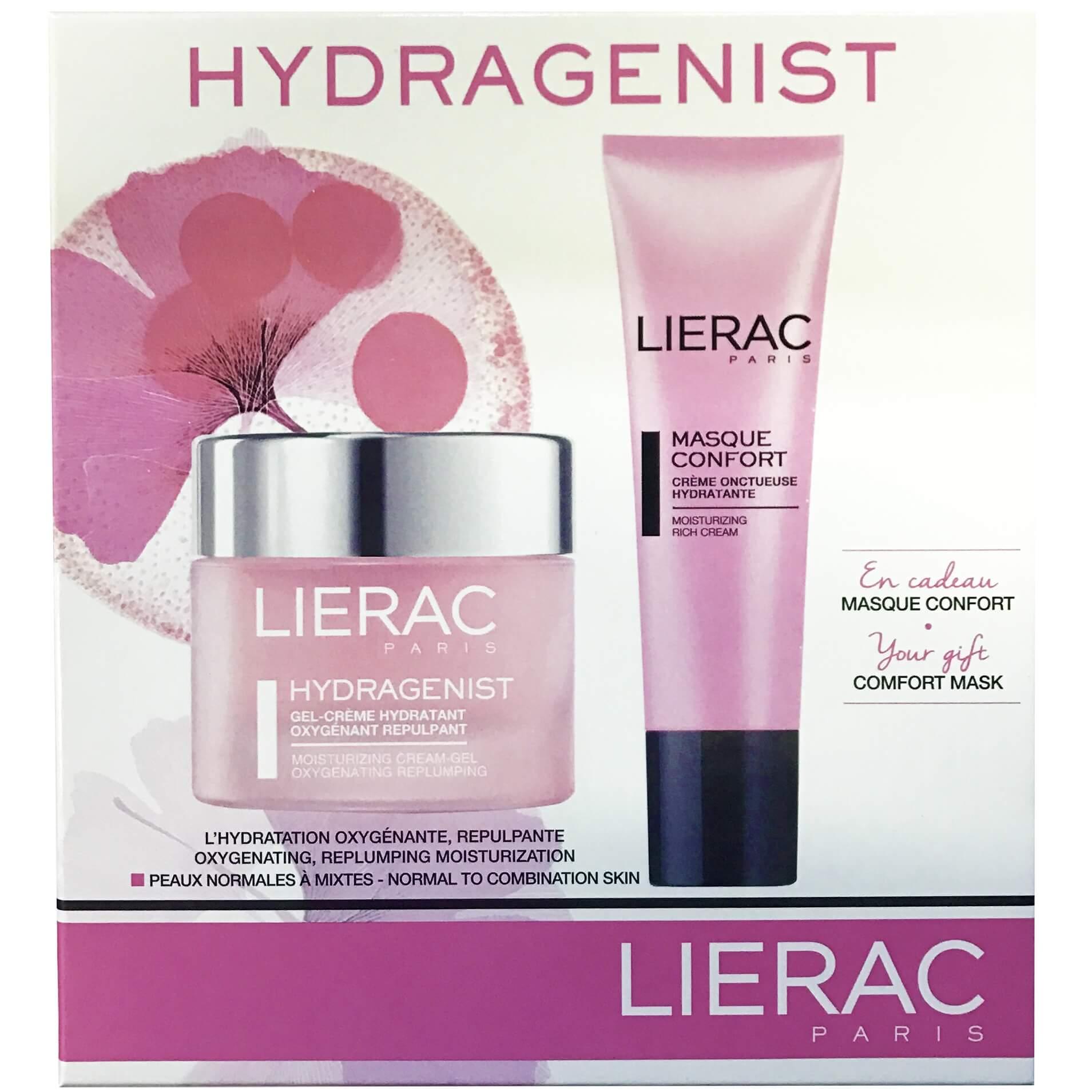 Lierac Πακέτο Προσφοράς Hydragenist Gel-Cream 50mlΚρέμα-Ζελ Προσώπου Ενυδάτωσης&Masque Confort Ενυδατική Μάσκα Προσώπου50ml
