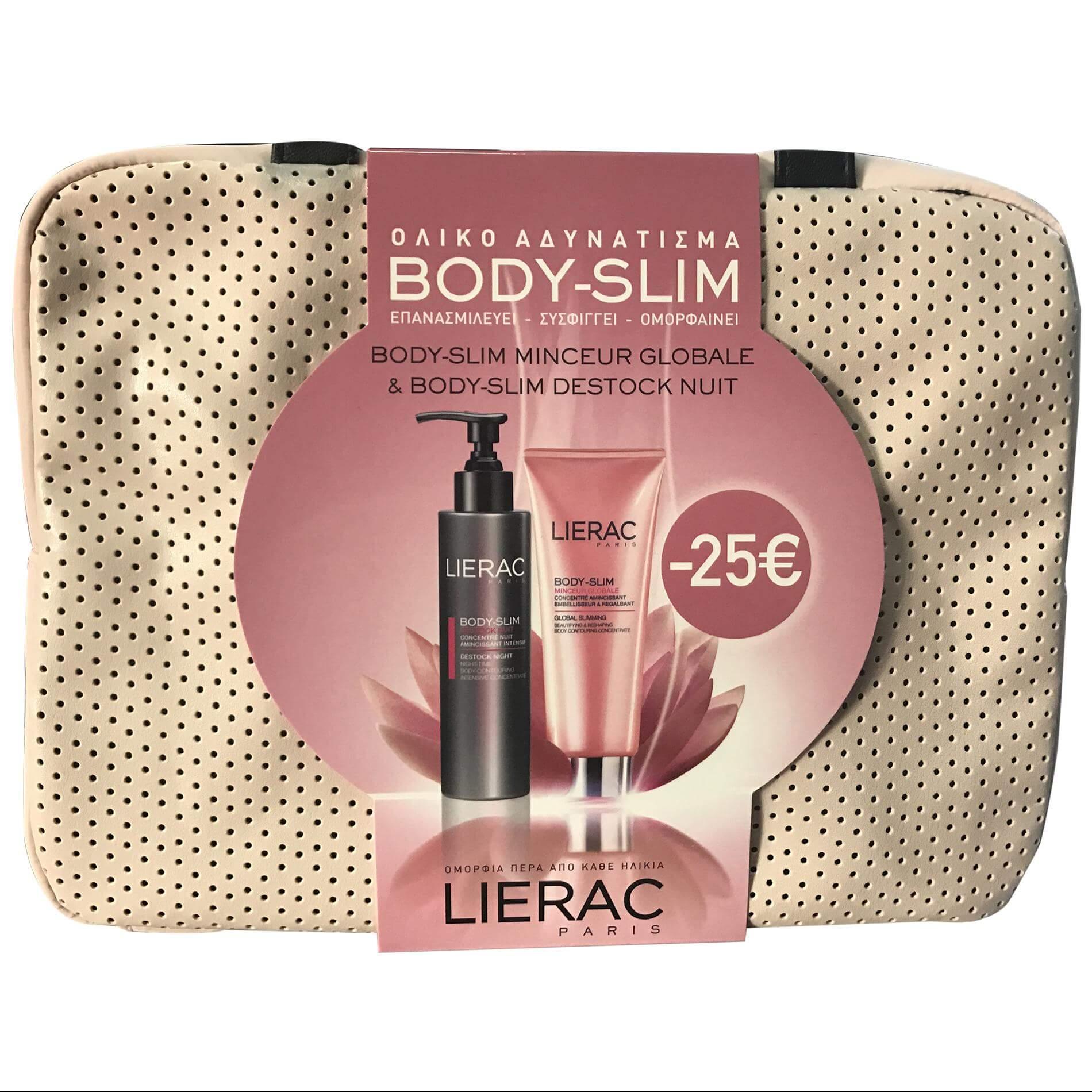 Lierac Πακέτο Προσφοράς Body Slim Destock Nuit Λιποδιαλυτικό Νυκτός 200ml & Body Slim Minceur Globale 200ml