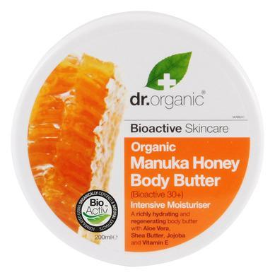 Dr Organic Organic Manuka Honey Body Butter Βούτυρο Σώματος με Βιολογικό Μέλι Μανούκα 200ml