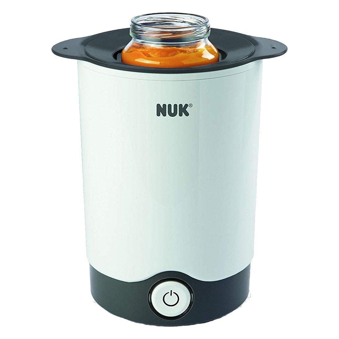 Nuk Thermo Express Θερμαντήρας Μπιμπερό Κατάλληλος για ΒρεφικέςΤροφές