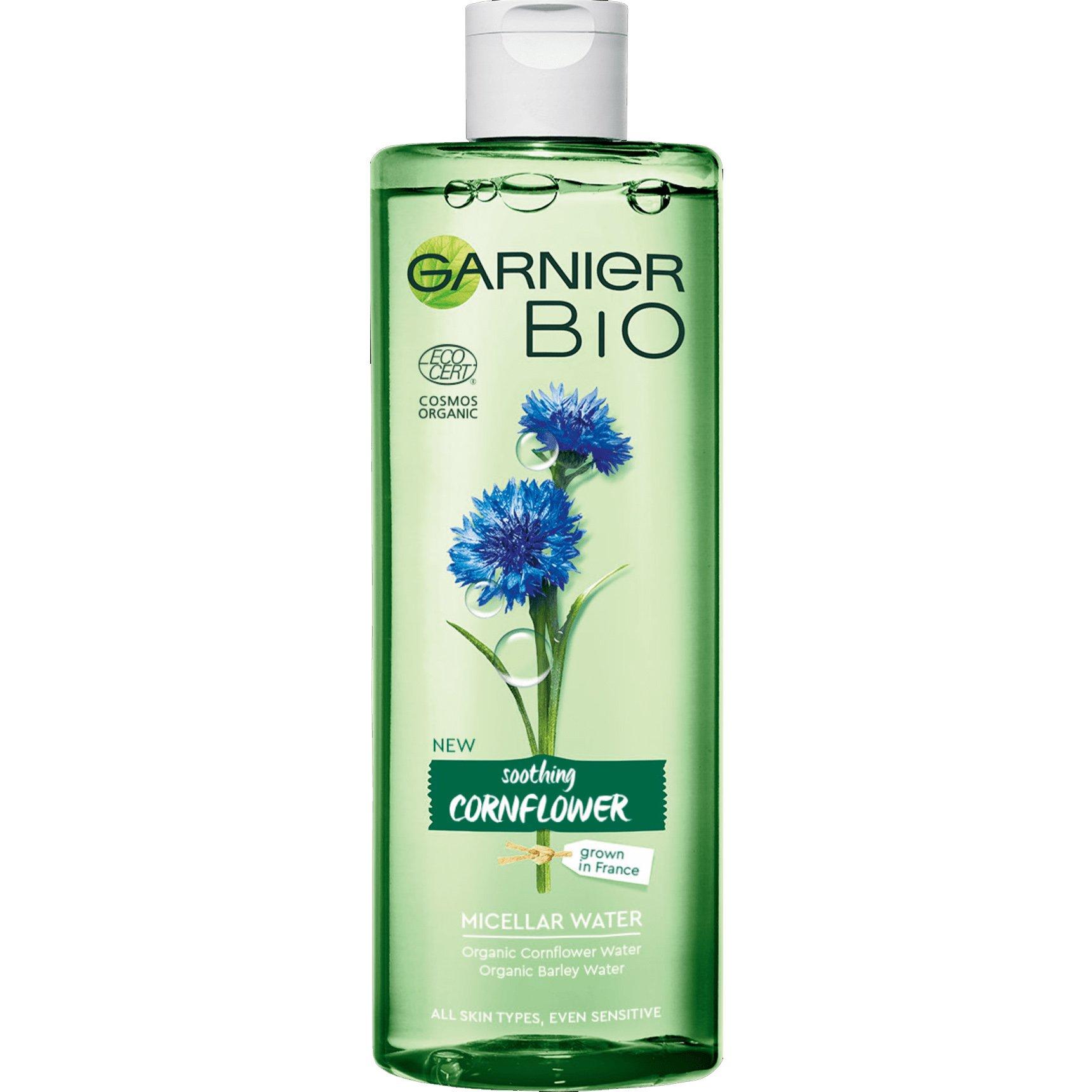 Garnier Bio Soothing Cornflower Micellaire Water Νερό Καθαρισμού με Βιολογικό Εκχύλισμα Κενταύριας 400ml