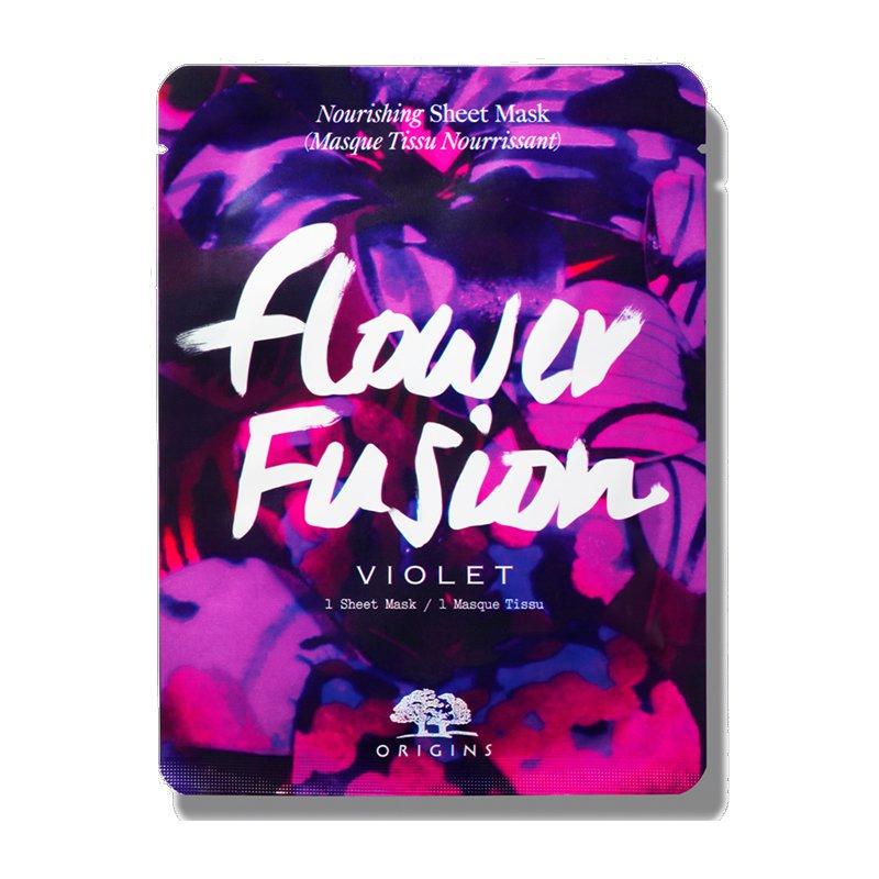 Origins Flower Fusion Nourishing Sheet Mask Violet Μάσκα Προσώπου Αντιοξειδωτικής Δράσης για Φρέσκια & Λαμπερή Επιδερμίδα 1sheet