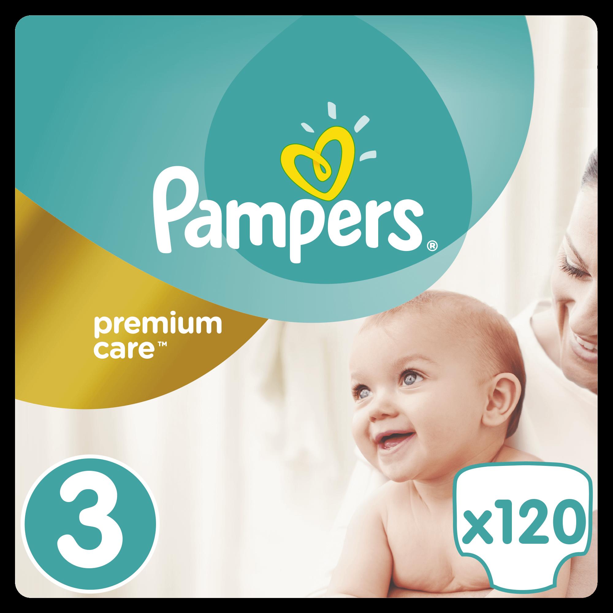 Pampers Premium Care No3 (5-9kg) 120 πάνες μητέρα παιδί   περιποίηση για το μωρό   πάνες για το μωρό