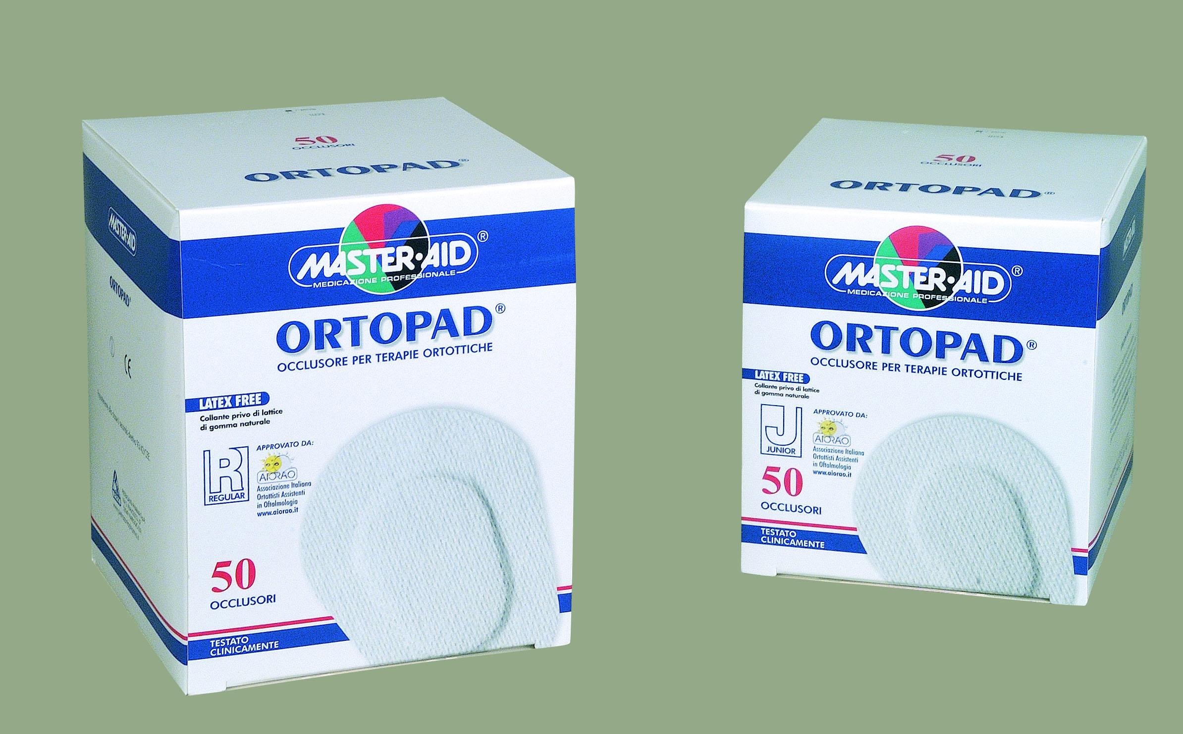 Master Aid Ortopad Regular 85 x 59mm 4 ετών Και Aνω 50τμχ