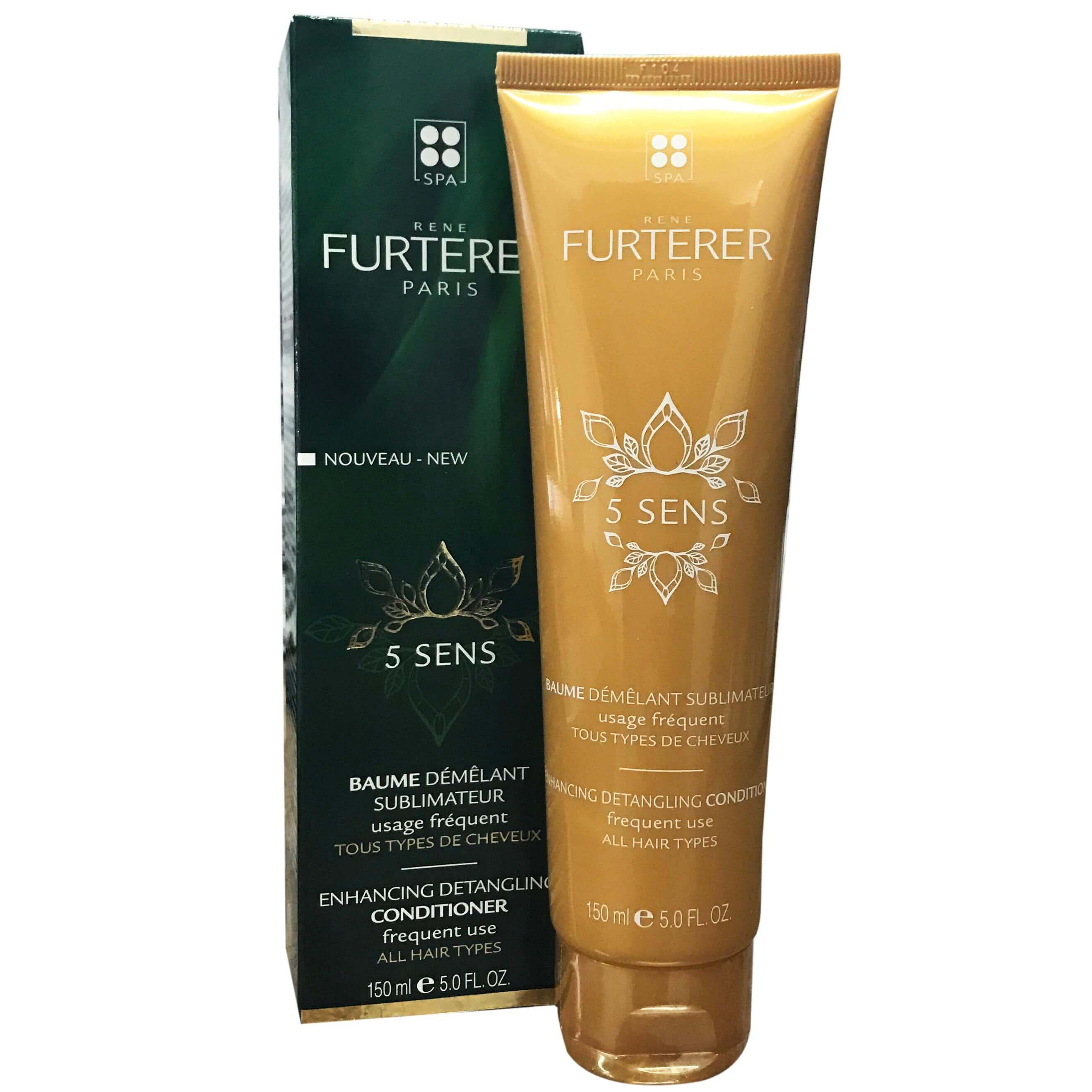 Rene Furterer 5 Sens Baume Demelant Μαλακτική Κρέμα Μαλλιών για Κάθε Τύπο Χωρίς Σιλικόνη 150ml