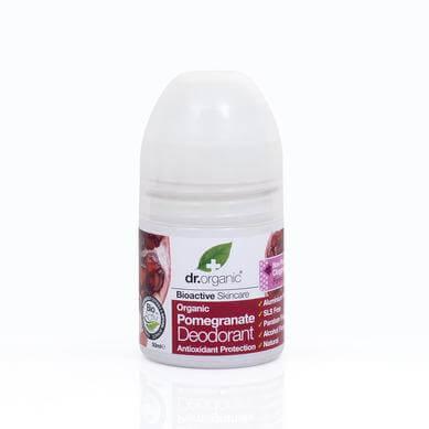 Dr Organic Organic Pomegranate Deodorant Αποσμητικό με Βιολογικό Ρόδι 50ml