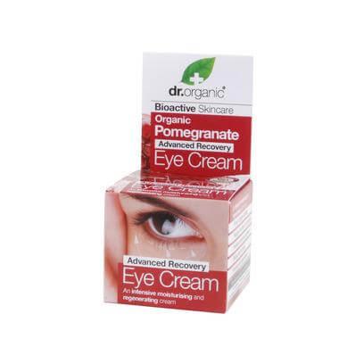 Dr Organic Organic Pomegranate Eye Cream Κρέμα Ματιών με Βιολογικό Ρόδι 15ml