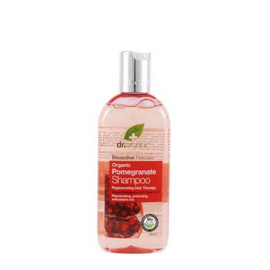 Dr Organic Organic Pomegranate Shampoo Σαμπουάν με Βιολογικό Ρόδι 265ml