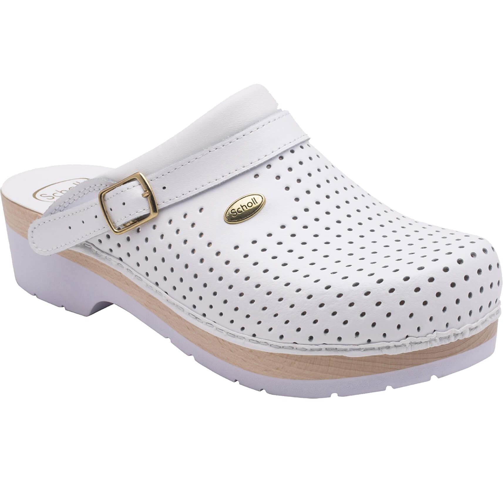 8359206fd86 Dr Scholl Shoes Σαμπό Λευκό Επαγγελματικά Υπερ Αναπαυτικά Παπούτσια,  Χαρίζουν Σωστή Στάση & Φυσικό Χωρίς
