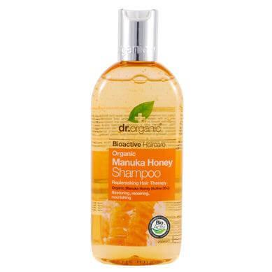 Dr Organic Organic Manuka Honey Shampoo Σαμπουάν με Βιολογικό Μέλι Μανούκα 265ml