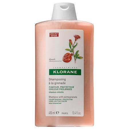 Klorane Shampoo a la Grenade Σαμπουάν με Ρόδι για Βαμμένα Μαλλιά 400ml