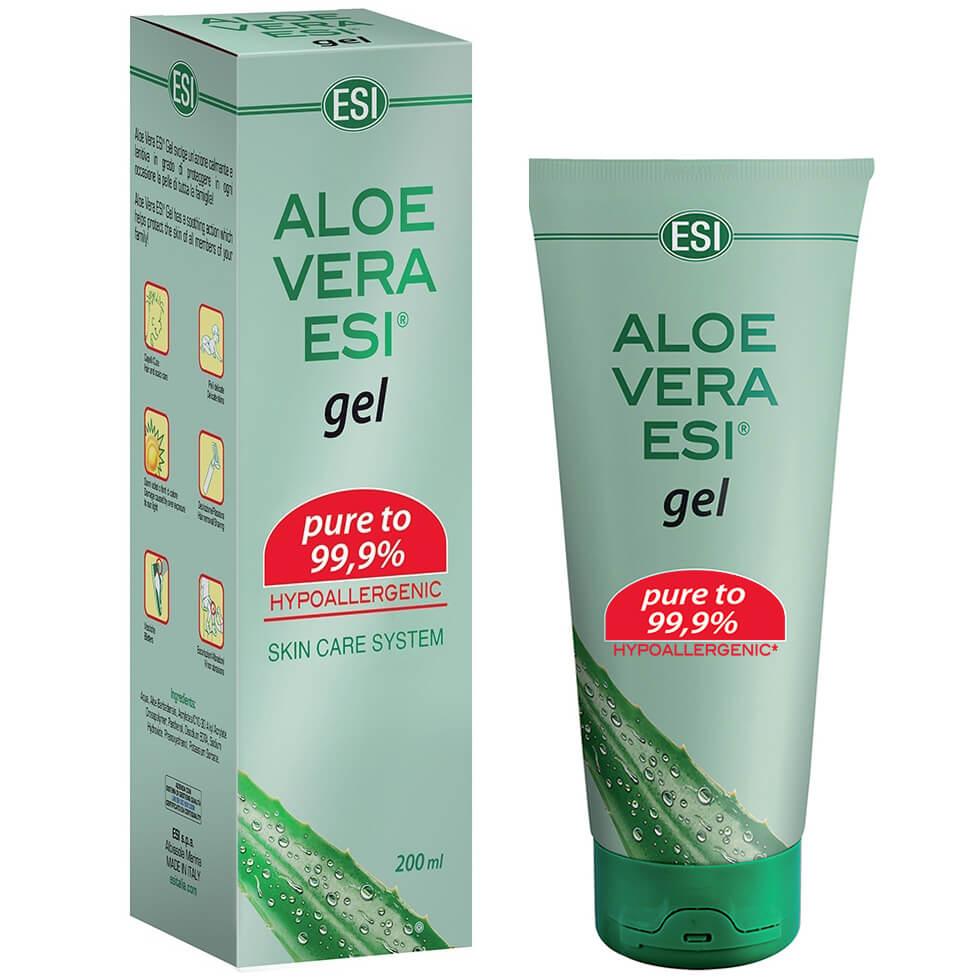 Εsi Aloe Vera Gel 99,9% Χαρίζει Άμεση Ενυδάτωση και Ανάπλαση στο Ερεθισμένο Δέρμα 200ml