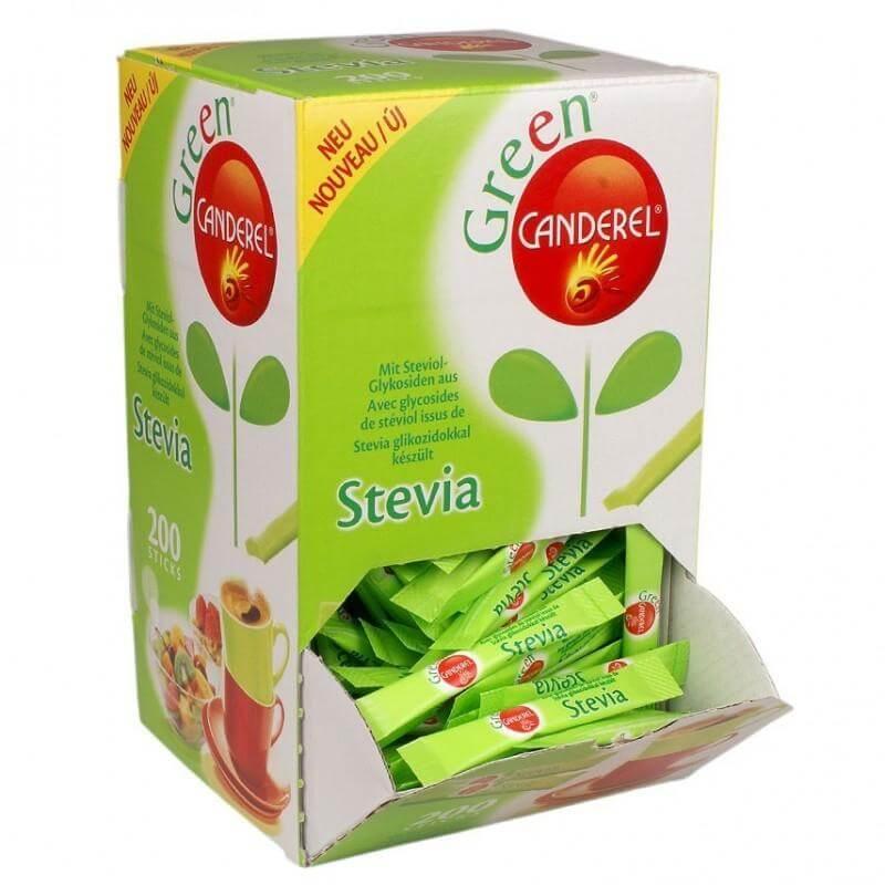 Canderel Κρυσταλλική Σκόνη με Γλυκαντικό από το Φυτό Stevia 130stics