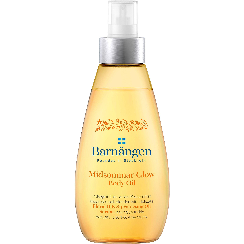 Barnangen Body Oil Midsummer Θρεπτικό Λάδι Σώματος με Απαλά Έλαια Λουλουδιών & Ενυδατικό Ορό Προστασίας 150ml