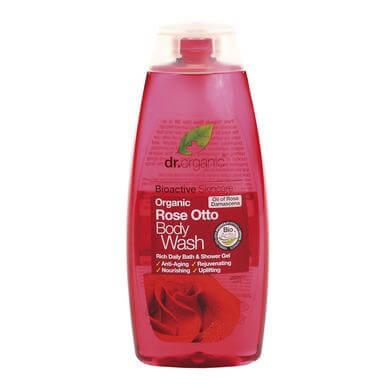 Dr Organic Organic Rose Otto Body Wash Αφρόλουτρο με Βιολογικό Έλαιο Τριαντάφυλλου 250ml
