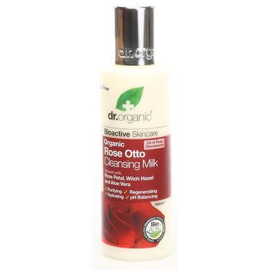 Dr Organic Organic Rose Otto Cleansing Milk Γαλάκτωμα Καθαρισμού με Βιολογικό Έλαιο Τριαντάφυλλου 150ml