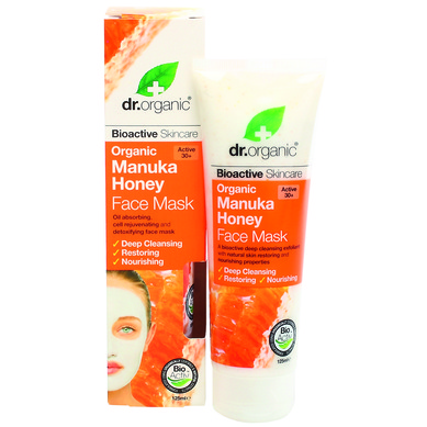 Dr Organic Organic Manuka Honey Face Mask Μάσκα Προσώπου με Βιολογικό Μέλι Μανούκα 125ml