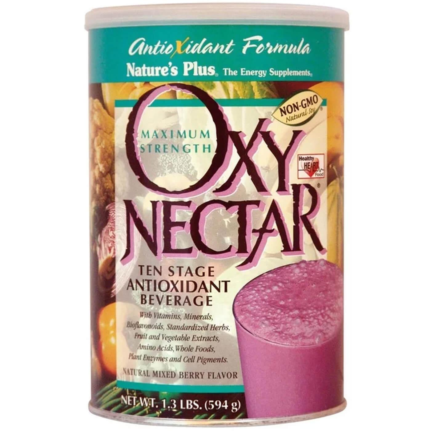 Natures Plus Oxy Nectar Συμπλήρωμα Διατροφής Πανίσχυρης Αντιοξειδωτικής Φόρμουλας για Έξτρα Ενέργεια 594gr (1.3lbr)