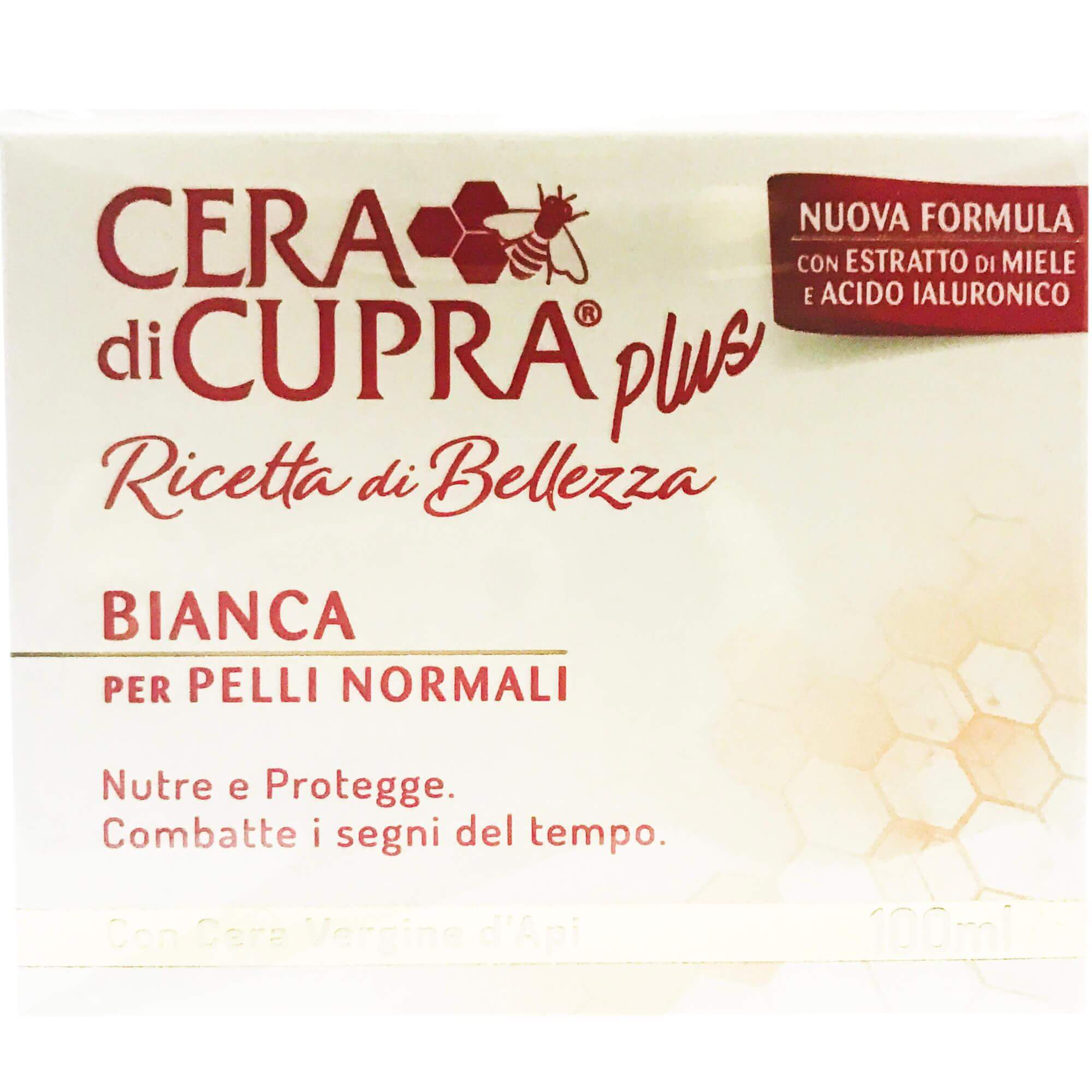Cera di Cupra Plus Ricetta di Bellezza BiancaΑντιγηραντική, Θρεπτική& Προστατευτική Κρέμαγια Κανονικό Δέρμα100ml