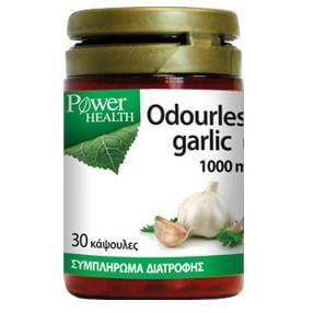 Power Health Odourless Garlic1000mg One A Day – 30 caps