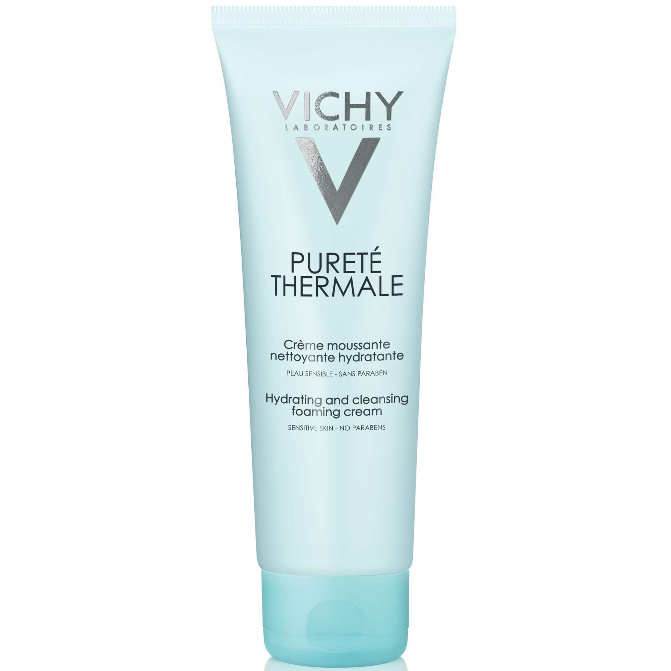 Vichy Purete Thermale Creme Moussante Douceur Αφρώδες Κρέμα Καθαρισμού 125ml