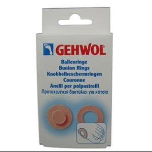 Gehwol Bunion Ring Round Προστατευτικοί δακτύλιοι για κότσια 6 τεμ.