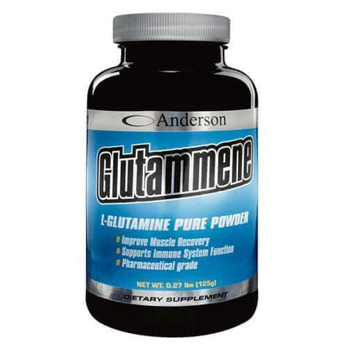 Anderson Glutammene Powder 100% L-Γλουταμίνη – 250gr