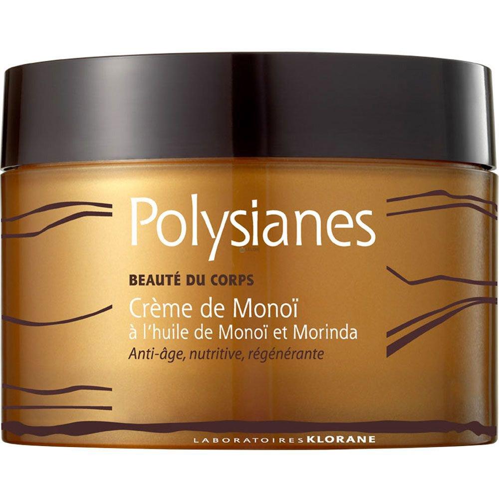Polysianes Body Beauty Monoï Cream Αντιγηραντική, Θρεπτική Κρέμα Σώματος Προστατεύει απο την Φωτογήρανση 200ml